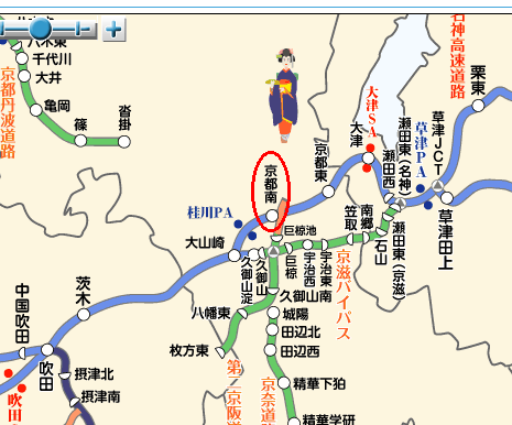 Toll Calculator For Drivers In Japan - Japan map road